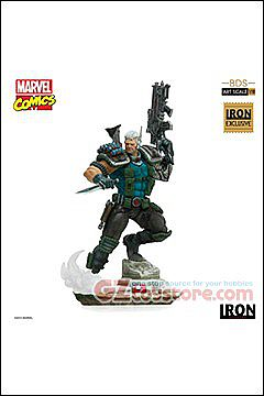 Iron Studios - Cable 1/10 Art Scale Statue Exclusive