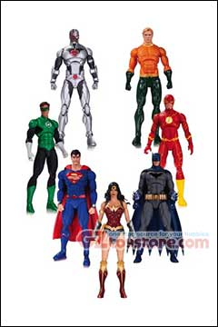 DC Collectibles - DC Rebirth Justice League of America 7-Pack