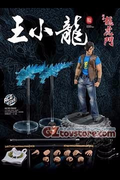 ACG Toys - Dragon Tiger Gate: Dragon Wong 1/6 Scale Action Figure