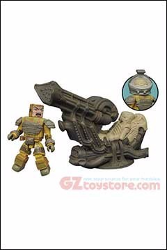Diamond Select Toys - Aliens Minimates Deluxe Space Jockey Set