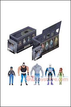 GALLERY ACTION FIGURE 5-PACK DC Collectibles - Batman Animated Series - GCPD Rogues Gallery 5-Pack