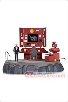 DC Collectibles - Batman Animated Series - Batcave with Alfred Playset