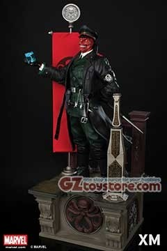 XM Studios - Red Skull Premium Collectibles Statue