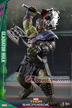 Hot Toys - Thor Ragnarok - Gladiator Hulk 1/6 Scale Figure