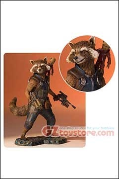 Gentle Giant - Guardians of the Galaxy 2 - Rocket and Groot 1/8 Scale Collector Gallery Statue