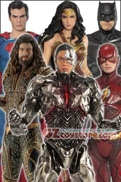 Kotobukiya - Justice League Movie - ArtFX+ Statue - Set of 6
