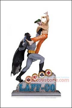 DC Collectibles - Batman vs Joker Laff-Co Battle Statue