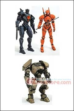 Diamond Select Toys - Pacific Rim Uprising Select - Set of 3