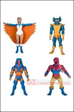 Super 7 - Masters of The Universe Club Grayskull 7-inch Wave 2 - Set of 4