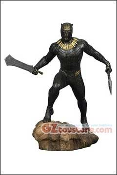 Diamond Select Toys - Marvel Gallery Black Panther Movie - Killmonger PVC Statue
