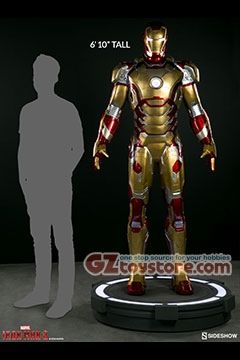 Sideshow Collectibles - Iron Man Mark 42 Life Size Figure