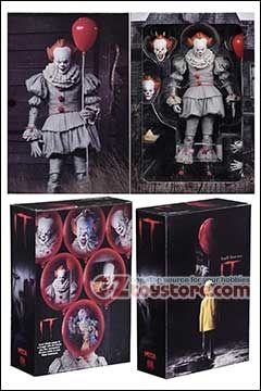 NECA - IT Ultimate Pennywise (2017 Movie) Action Figure