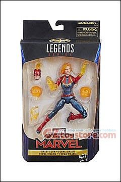 Hasbro - Marvel Legends Captain Marvel (Binary Form) Exclusive