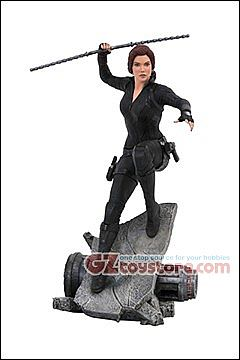 Diamond Select Toys - Avengers End Game - Black Widow 12-Inch Premier Collection Statue