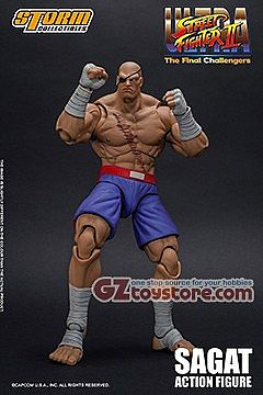 Storm Collectibles - Street Fighter II - Sagat 1/12 Scale Action Figure