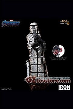 Iron Studios - Avengers Endgame - Black Panther 1/10 Art Scale Statue