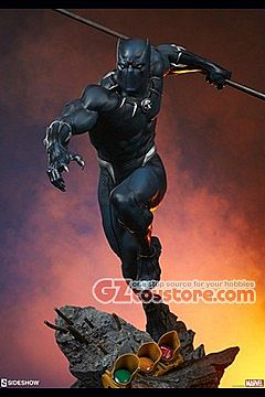 Sideshow Collectibles - Avengers Assemble - Black Panther 1/5 Scale Statue