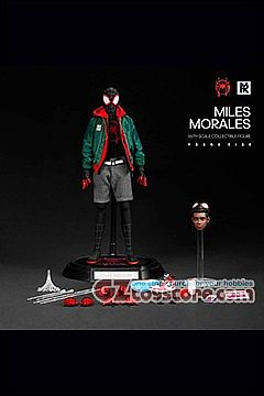 Young Rich Toys - Spider-Verse Miles Morales Battle Suit Costume 1/6 Scale Figure