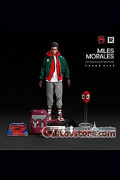 Young Rich Toys - Spider-Verse Miles Morales Casual Wear Costume 1/6 Scale Figure