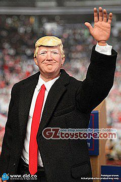 DID - Donald Trump 2020 1/6 Scale Figure