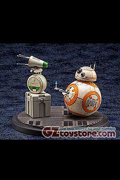 Kotobukiya - Star Wars The Rise of Skywalker - D-O and BB-8 ArtFX+ Statue