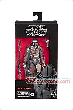 Hasbro - Star Wars Black Series 2019 Wave 1 6-Inch - The Mandalorian
