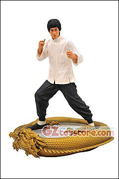 Diamond Select Toys - Bruce Lee 80th Anniversary Premier Collection 11-inch Resin Statue