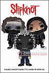 Funko - POP! Rocks - Slipknot Set of 3 Vinyl Figures