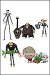 Diamond Select Toys - Nightmare Before Christmas Select Series 9 - Set of 3