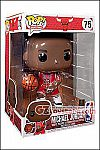 Funko - POP! NBA - Bulls Michael Jordan (Red Jersey #23) 10-inch Vinyl Figure