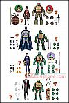 DC Collectibles - Batman vs TMNT - 2-Pack Exclusive - Set of 4