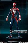 PCS Collectibles - Spider-Man Video Game - Spider-Man Advanced Suit 1/10 Scale Statue