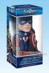 Funko - Avengers Captain America Wacky Wobbler Bobble Head