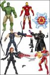 "Hasbro - The Avengers Movie 3.75"" Series 4 Set of 7"