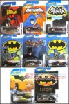 Hot Wheels - 1:64 Batmobile Walmart Exclusive Set of 8