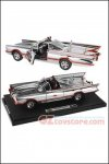 Hot Wheels - Elite Chrome Batmobile 1966 1:18 Scale Die-Cast