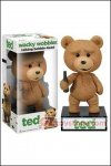 Funko - Ted Talking Wacky Wobbler Bobble Head