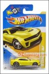 Hot Wheels - 1:64 '12 Camaro ZL1 Yellow Kroger Exclusives