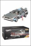 Hot Wheels - Elite Cult Classics 1:18 Scale Back To The Future Time Machine with Opening Mr. Fusion