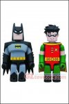 Medicom - DC Comics Kubricks Animated Series Batman & Robin 2-Pack