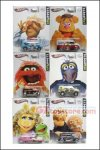 Hot Wheels - Pop Culture Assortment B (Muppets) Set of 6