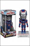 Funko - Iron Man 3 Iron Patriot Wacky Wobbler Bobble Head