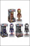 Funko - Iron Man 3 Wacky Wobbler Bobble Head Set of 3