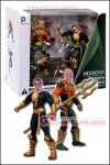 "DC Collectibles - Injustice: Aquaman VS Black Adam 3.75"" 2-Pack"