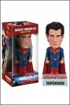 Funko - Man of Steel: Superman Wacky Wobbler Bobble Head