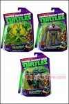 Playmates - Teenage Mutant Ninja Turtles Basic Figures: Snakeweed - Baxter Stockman - Leatherhead