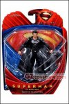 Mattel - Man of Steel Movie Masters: Superman Black Suit