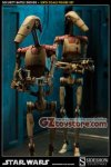 Sideshow Collectibles - Security Battle Droids Sixth Scale Figure Set