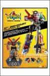 Toynami - Voltron 30th Anniversary Die-Cast Light-Up Action Figure with Sound Collectors Set