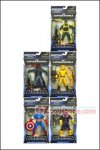 Hasbro - Captain America  Marvel Legends Infinite Series 1 Set of 6